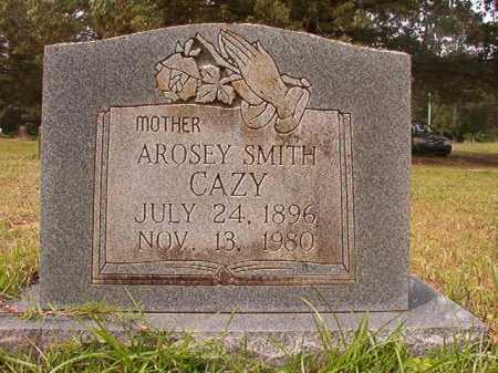 SMITH CAZY, AROSEY - Columbia County, Arkansas | AROSEY SMITH CAZY - Arkansas Gravestone Photos