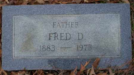 CHAMBERLAIN, FRED D - Columbia County, Arkansas | FRED D CHAMBERLAIN - Arkansas Gravestone Photos