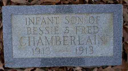 CHAMBERLAIN, INFANT SON - Columbia County, Arkansas | INFANT SON CHAMBERLAIN - Arkansas Gravestone Photos