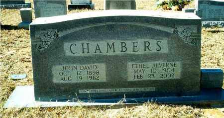 CHAMBERS, JOHN DAVID - Columbia County, Arkansas | JOHN DAVID CHAMBERS - Arkansas Gravestone Photos