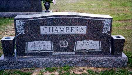 CHAMBERS, ROY E. - Columbia County, Arkansas | ROY E. CHAMBERS - Arkansas Gravestone Photos