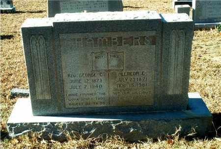 CHAMBERS, REV., GEORGE C. - Columbia County, Arkansas | GEORGE C. CHAMBERS, REV. - Arkansas Gravestone Photos