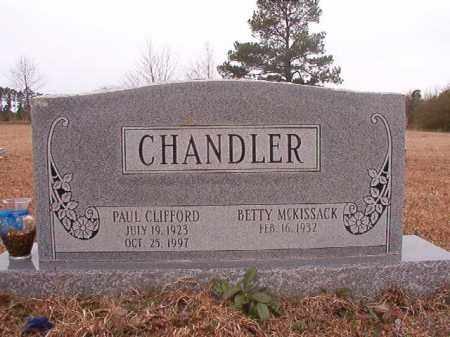 CHANDLER, PAUL CLIFFORD - Columbia County, Arkansas | PAUL CLIFFORD CHANDLER - Arkansas Gravestone Photos