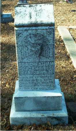 CHEATHAM, ASA - Columbia County, Arkansas | ASA CHEATHAM - Arkansas Gravestone Photos