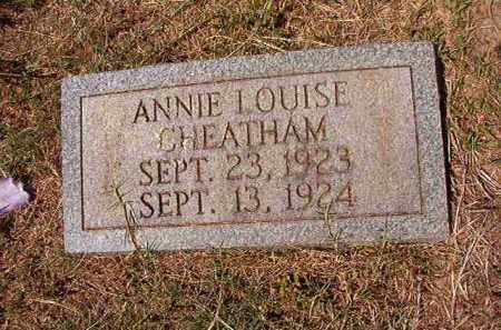CHEATHAM, ANNIE LOUISE - Columbia County, Arkansas | ANNIE LOUISE CHEATHAM - Arkansas Gravestone Photos