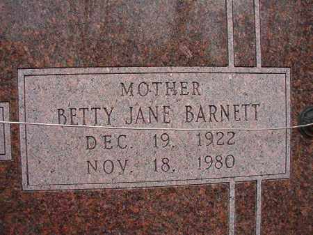 CHEATHAM, BETTY JANE - Columbia County, Arkansas | BETTY JANE CHEATHAM - Arkansas Gravestone Photos