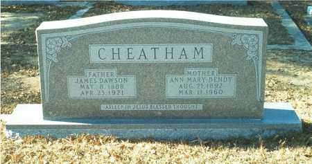 CHEATHAM, JAMES DAWSON - Columbia County, Arkansas | JAMES DAWSON CHEATHAM - Arkansas Gravestone Photos