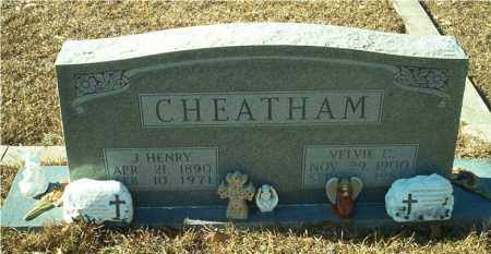 CHEATHAM, VELVIE - Columbia County, Arkansas | VELVIE CHEATHAM - Arkansas Gravestone Photos