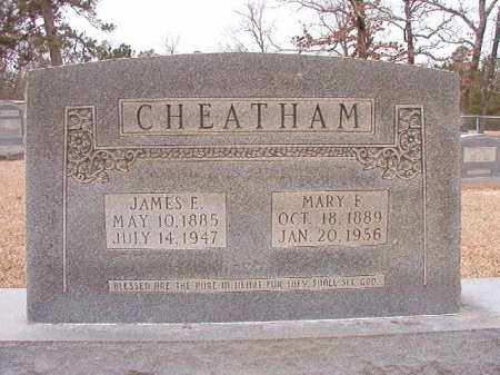 CHEATHAM, MARY F - Columbia County, Arkansas | MARY F CHEATHAM - Arkansas Gravestone Photos