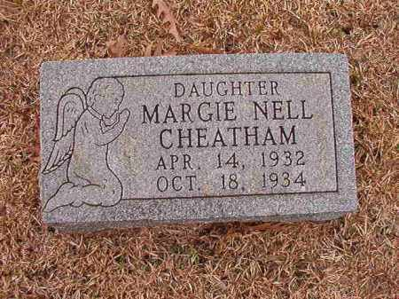 CHEATHAM, MARGIE NELL - Columbia County, Arkansas | MARGIE NELL CHEATHAM - Arkansas Gravestone Photos