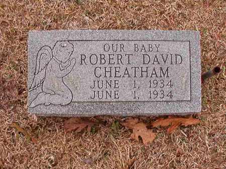 CHEATHAM, ROBERT DAVID - Columbia County, Arkansas | ROBERT DAVID CHEATHAM - Arkansas Gravestone Photos