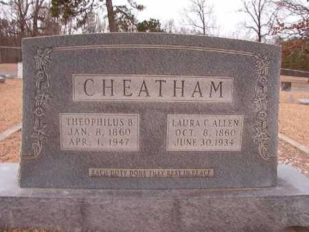ALLEN CHEATHAM, LAURA C - Columbia County, Arkansas | LAURA C ALLEN CHEATHAM - Arkansas Gravestone Photos