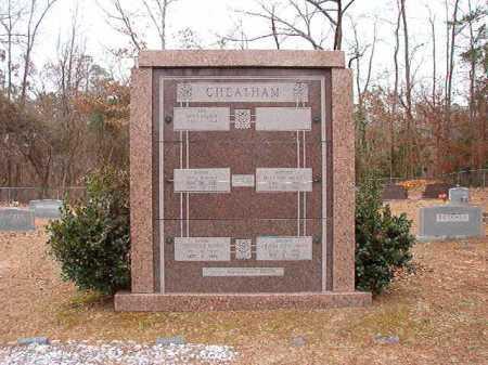 CHEATHAM, VAULT - Columbia County, Arkansas | VAULT CHEATHAM - Arkansas Gravestone Photos