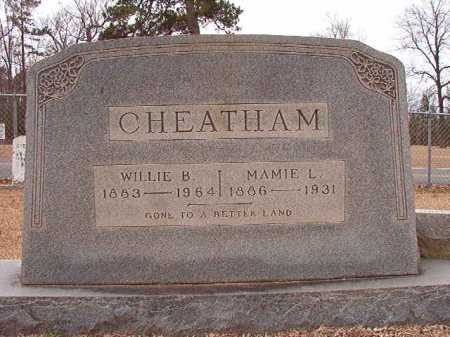 CHEATHAM, MAMIE L - Columbia County, Arkansas | MAMIE L CHEATHAM - Arkansas Gravestone Photos