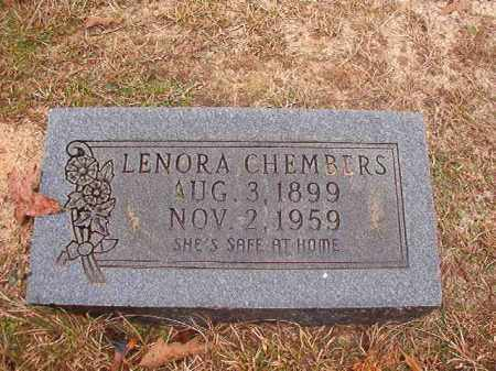 CHEMBERS, LENORA - Columbia County, Arkansas | LENORA CHEMBERS - Arkansas Gravestone Photos