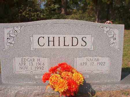 CHILDS, EDGAR H - Columbia County, Arkansas | EDGAR H CHILDS - Arkansas Gravestone Photos