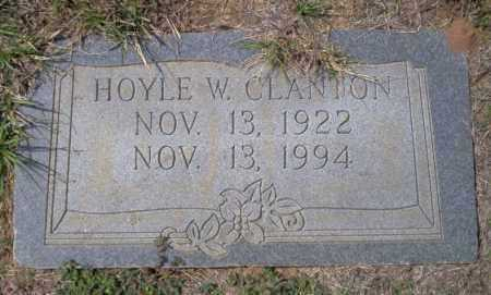 CLANTON, HOYLE W - Columbia County, Arkansas | HOYLE W CLANTON - Arkansas Gravestone Photos