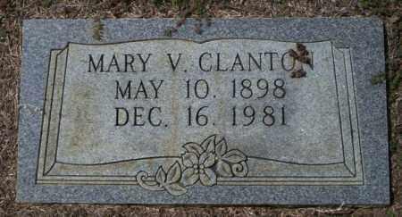 CLANTON, MARY V - Columbia County, Arkansas | MARY V CLANTON - Arkansas Gravestone Photos