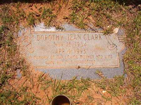 CLARK, DOROTHY JEAN - Columbia County, Arkansas | DOROTHY JEAN CLARK - Arkansas Gravestone Photos