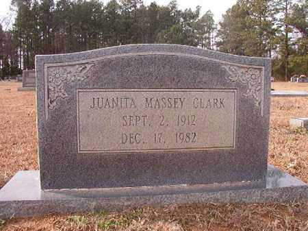MASSEY CLARK, JUANITA - Columbia County, Arkansas | JUANITA MASSEY CLARK - Arkansas Gravestone Photos