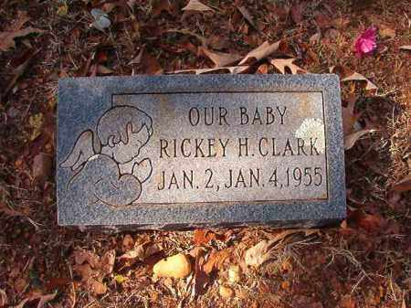 CLARK, RICKEY H - Columbia County, Arkansas | RICKEY H CLARK - Arkansas Gravestone Photos