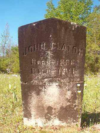 CLATON, JOHN - Columbia County, Arkansas | JOHN CLATON - Arkansas Gravestone Photos