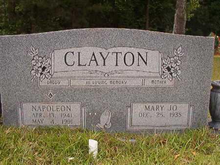 CLAYTON, NAPOLEON - Columbia County, Arkansas | NAPOLEON CLAYTON - Arkansas Gravestone Photos