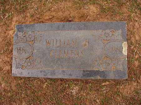 CLEMENS, WILLIAM H - Columbia County, Arkansas | WILLIAM H CLEMENS - Arkansas Gravestone Photos