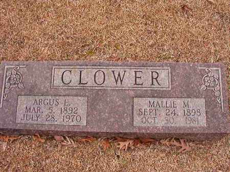 CLOWER, ARGUS E - Columbia County, Arkansas | ARGUS E CLOWER - Arkansas Gravestone Photos