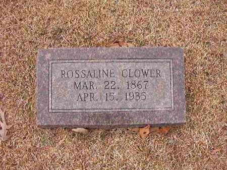 CLOWER, ROSSALINE - Columbia County, Arkansas | ROSSALINE CLOWER - Arkansas Gravestone Photos