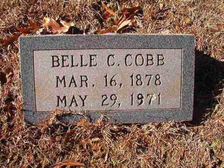 COBB, BELLE C - Columbia County, Arkansas | BELLE C COBB - Arkansas Gravestone Photos