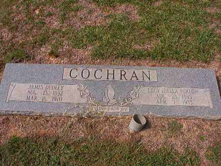 COCHRAN, JAMES DUDLEY - Columbia County, Arkansas | JAMES DUDLEY COCHRAN - Arkansas Gravestone Photos