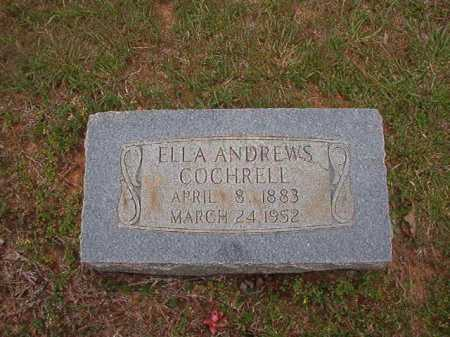 COCHRELL, ELLA - Columbia County, Arkansas | ELLA COCHRELL - Arkansas Gravestone Photos