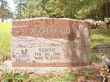 COFIELD, LONNIE - Columbia County, Arkansas | LONNIE COFIELD - Arkansas Gravestone Photos