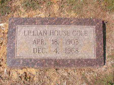 COLE, LILLIAN - Columbia County, Arkansas | LILLIAN COLE - Arkansas Gravestone Photos
