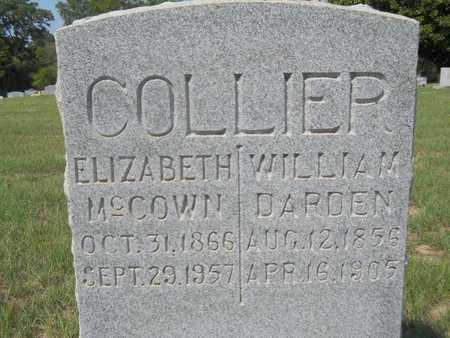 COLLIER, WILLIAM DARDEN - Columbia County, Arkansas | WILLIAM DARDEN COLLIER - Arkansas Gravestone Photos