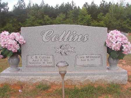COLLINS, C B - Columbia County, Arkansas | C B COLLINS - Arkansas Gravestone Photos