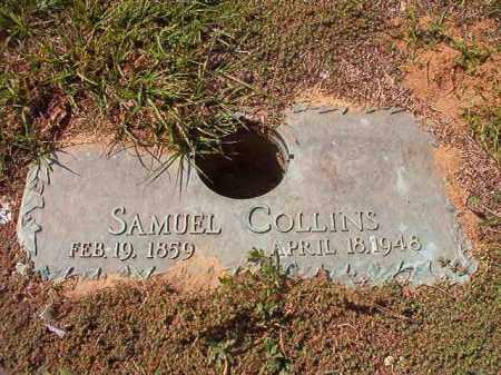 COLLINS, SAMUEL - Columbia County, Arkansas | SAMUEL COLLINS - Arkansas Gravestone Photos