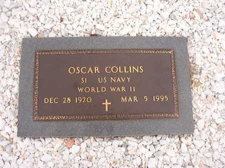 COLLINS (VETERAN WWII), OSCAR - Columbia County, Arkansas | OSCAR COLLINS (VETERAN WWII) - Arkansas Gravestone Photos