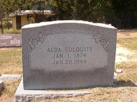 COLQUITT, ALDA - Columbia County, Arkansas | ALDA COLQUITT - Arkansas Gravestone Photos