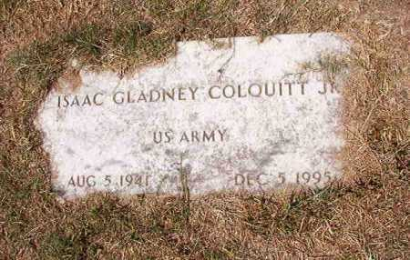 COLQUITT, JR (VETERAN), ISAAC GLADNEY - Columbia County, Arkansas | ISAAC GLADNEY COLQUITT, JR (VETERAN) - Arkansas Gravestone Photos