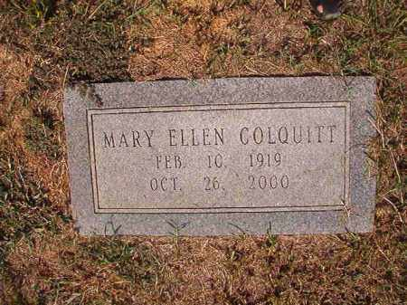 COLQUITT, MARY ELLEN - Columbia County, Arkansas | MARY ELLEN COLQUITT - Arkansas Gravestone Photos