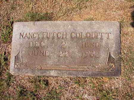 FUTCH COLQUITT, NANCY - Columbia County, Arkansas | NANCY FUTCH COLQUITT - Arkansas Gravestone Photos