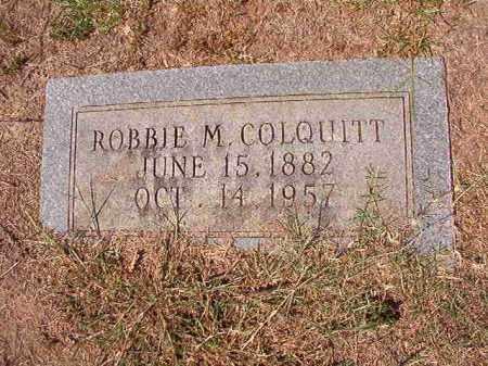 COLQUITT, ROBBIE M (OBIT) - Columbia County, Arkansas | ROBBIE M (OBIT) COLQUITT - Arkansas Gravestone Photos