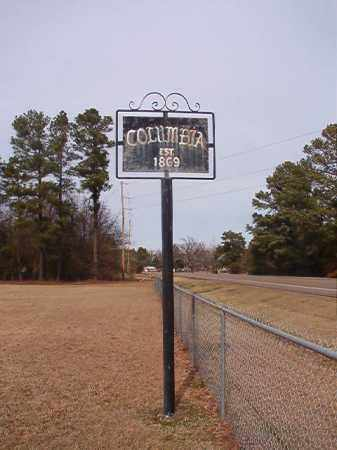 *COLUMBIA, CEMETERY - Columbia County, Arkansas | CEMETERY *COLUMBIA - Arkansas Gravestone Photos