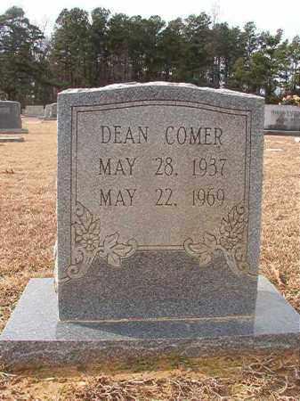 COMER, DEAN - Columbia County, Arkansas   DEAN COMER - Arkansas Gravestone Photos