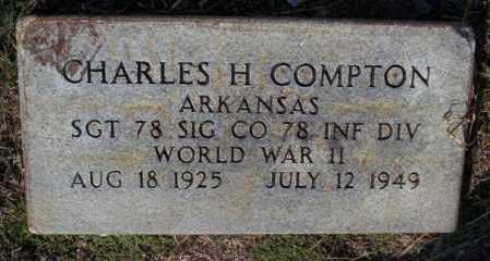 COMPTON  (VETERAN WWII), CHARLES H - Columbia County, Arkansas | CHARLES H COMPTON  (VETERAN WWII) - Arkansas Gravestone Photos