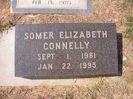 CONNELLY, SOMER ELIZABETH - Columbia County, Arkansas | SOMER ELIZABETH CONNELLY - Arkansas Gravestone Photos