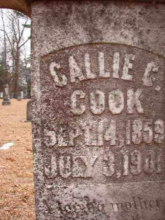COOK, CALLIE C - Columbia County, Arkansas | CALLIE C COOK - Arkansas Gravestone Photos