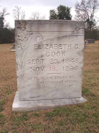 COOK, ELIZABETH G - Columbia County, Arkansas | ELIZABETH G COOK - Arkansas Gravestone Photos